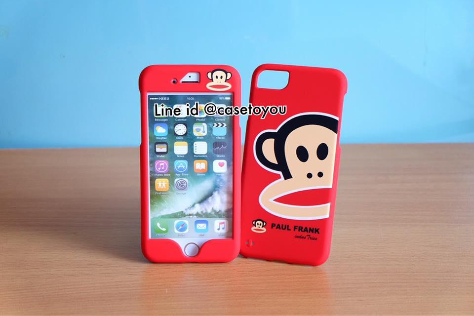 เคสประกบหน้า-หลัง Paulfrank แดง สำหรับ iPhone 7