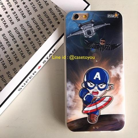 New iStar Captain America สำหรับ iPhone 6 Plus /6S Plus