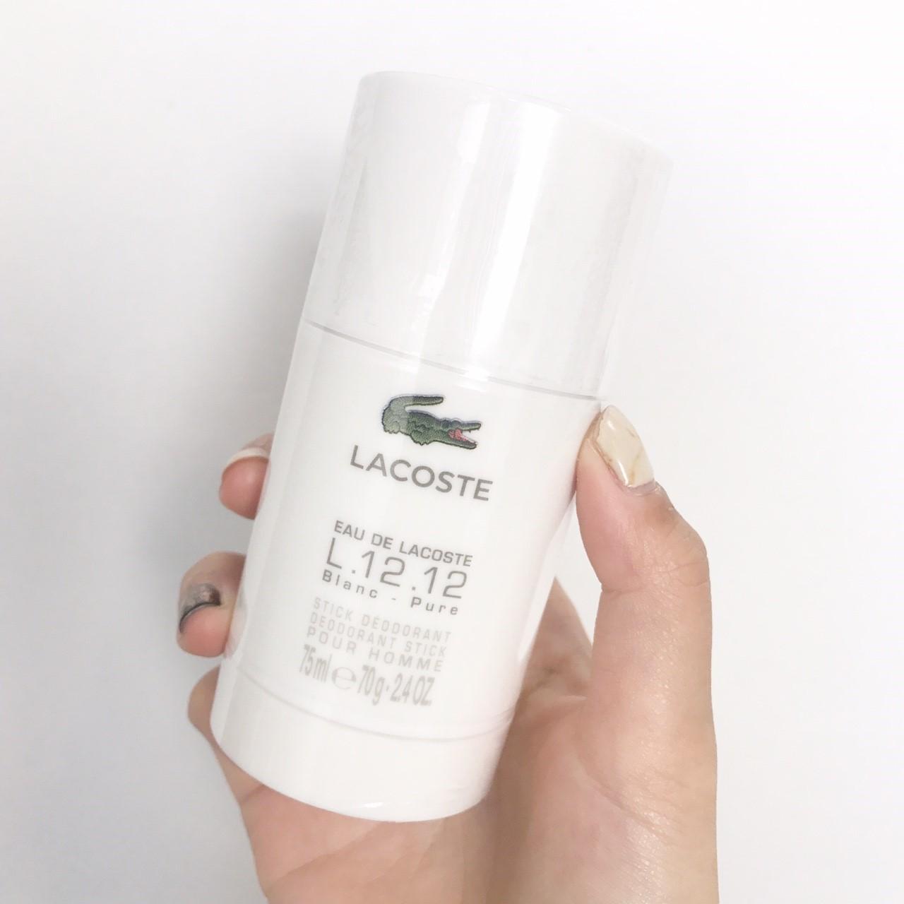 โรลออน Lacoste L.12.12 Deodorant Stick 75g. ของแท้
