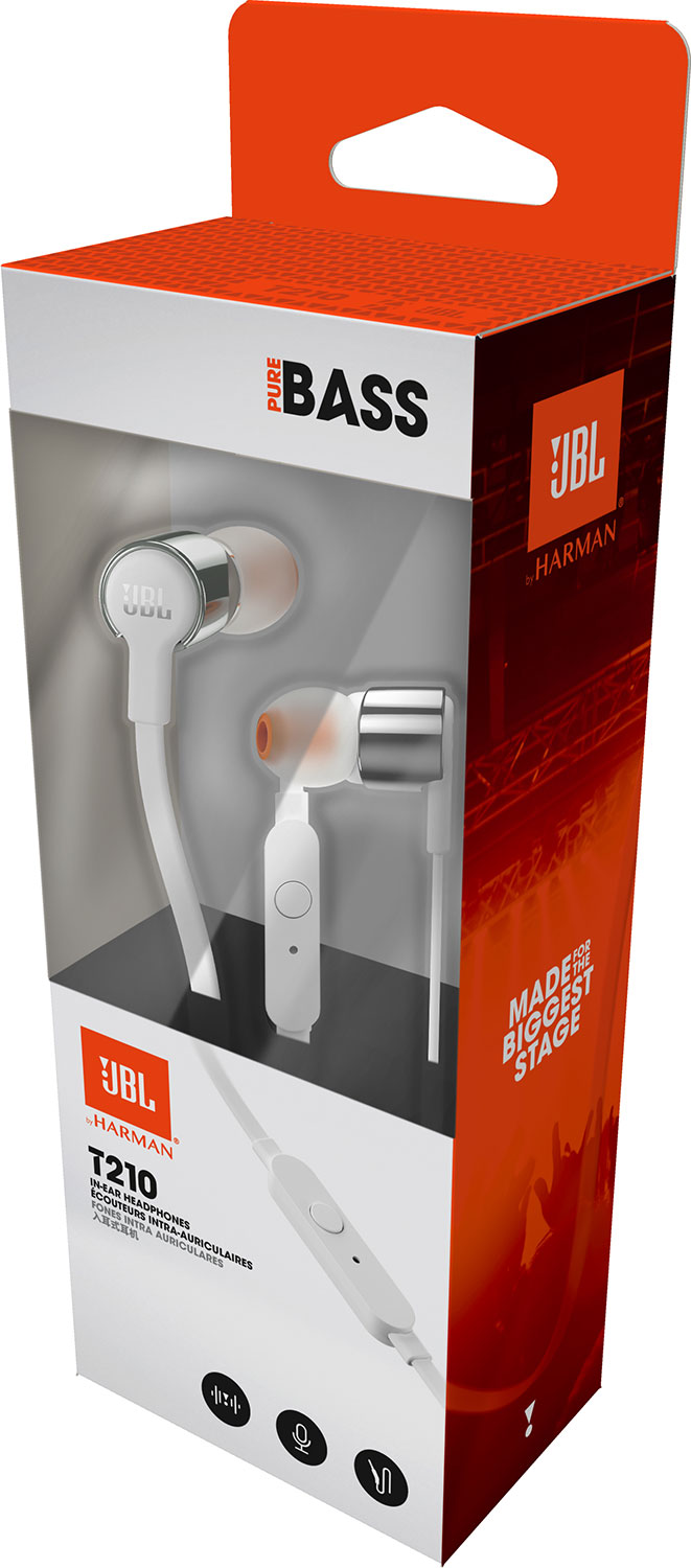 JBL T210 In-Ear Headphone - GRAY ราคา 990 บาท