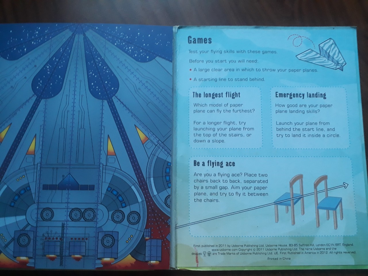 Usborne 100 Paper Planes To Fly