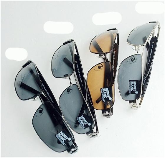 แว่นตาหรูกันแดดสำหรับสุภาพสตรีและสุภาพบุรุษโพลาไรซ์ ใหม่ รุ่น WBL85S สีดำ/น้ำตาล