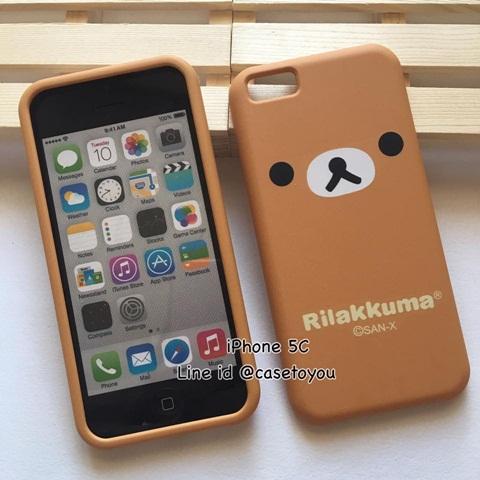 เคสประกบลาย Rilakkuma รุ่นไอโฟน 5c