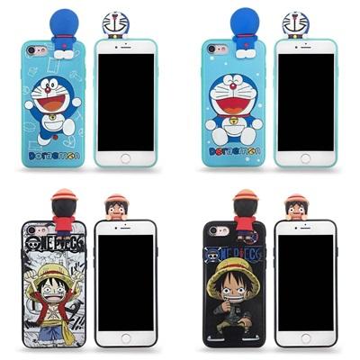 Doraemon & Luffy เกาะ iPhone 5/5S/SE