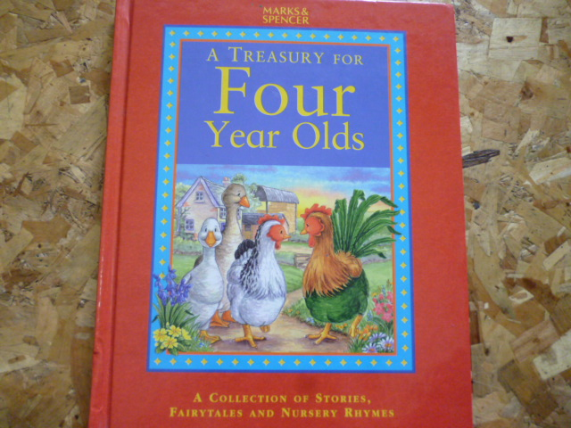 A Treasury For FOUR Year Olds