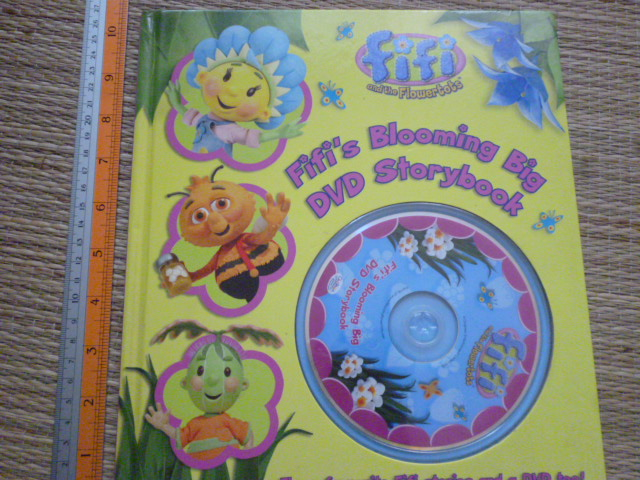 Fifi's Blooming Big DVD Storybook (FIFI and the Flowertots)