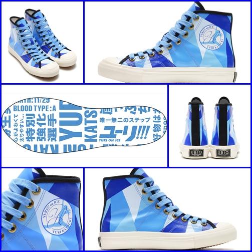 [Pre-order JP] สินค้าพรีออเดอร์จากญี่ปุ่น รองเท้าผ้าใบ Yuri!!! on ICE !