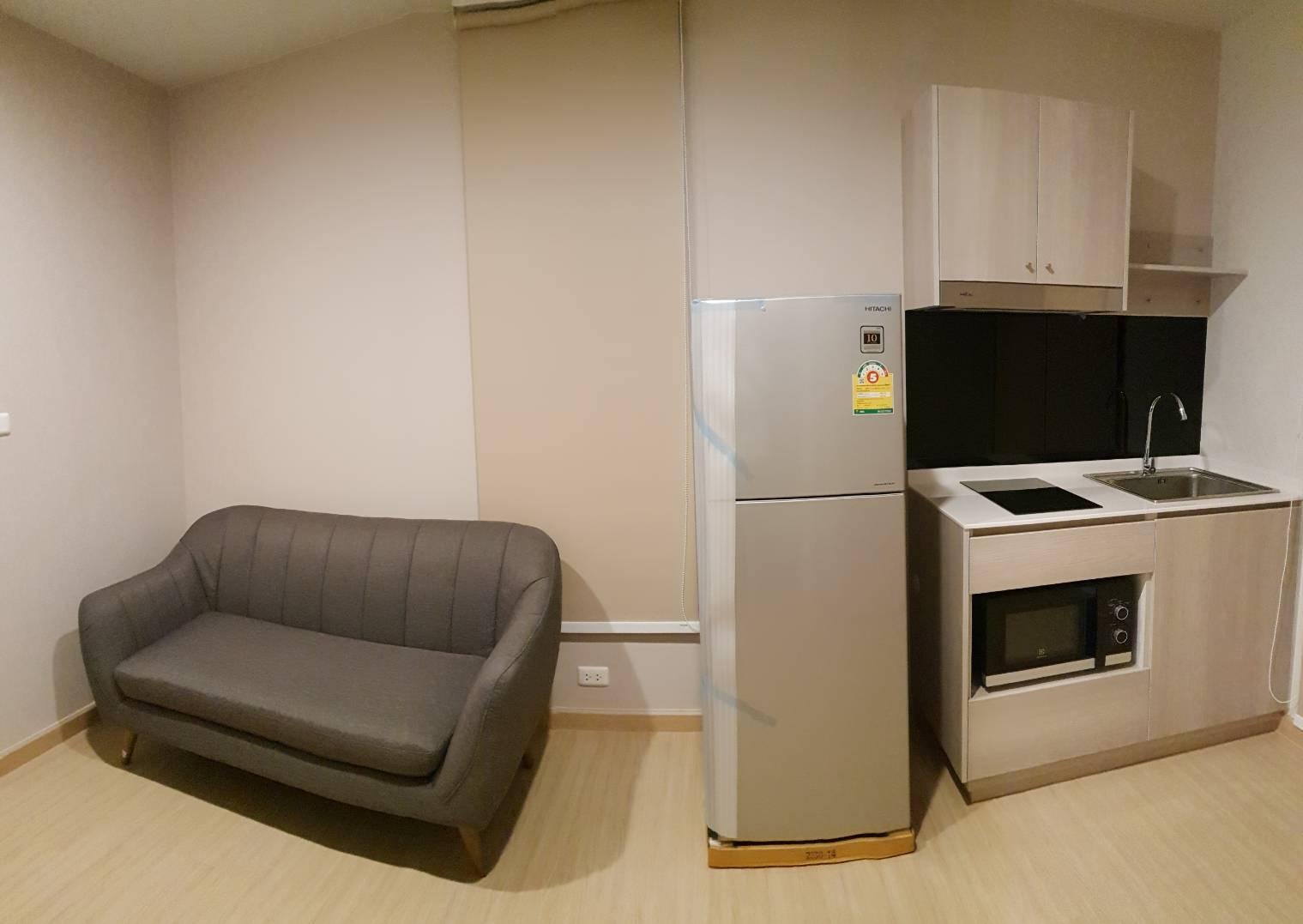 ให้เช่าคอนโด The Tree Onnut Station (เดอะทรี อ่อนนุช สเตชั่น สุขุมวิท 54 ) 1 ห้องนอน 1 ห้องน้ำ
