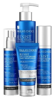ลด 20 % PAULA'S CHOICE :: Resist Simple Kit for Wrinkles + Sun Damage เซตบำรุงสำหรับผู้ที่มีปัญหาเรื่องริ้วรอยแห่งวัย