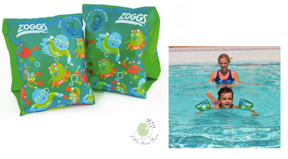 Armbands จาก Zoggs size: 1-6Yr