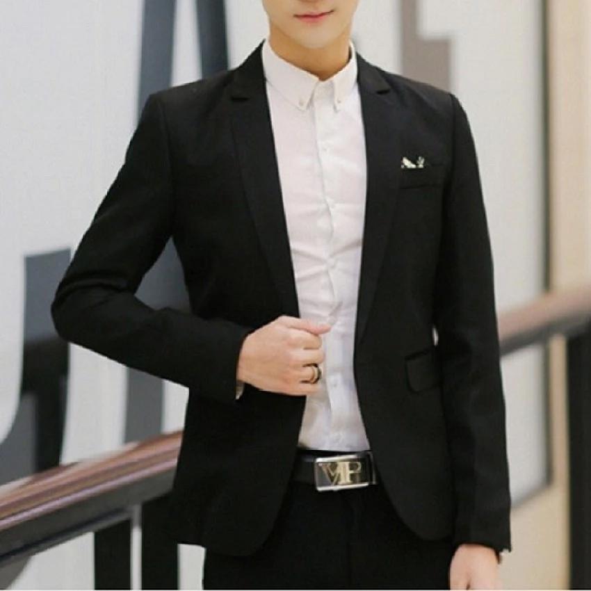 Afterthat เสื้อสูทผู้ชาย รุ่น JY56B (Black)