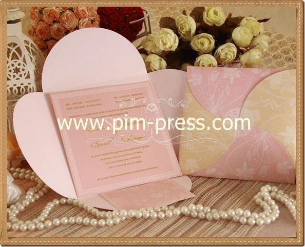 การ์ดแต่งงาน VIP-SCT หน้าเดียว (6-0181)