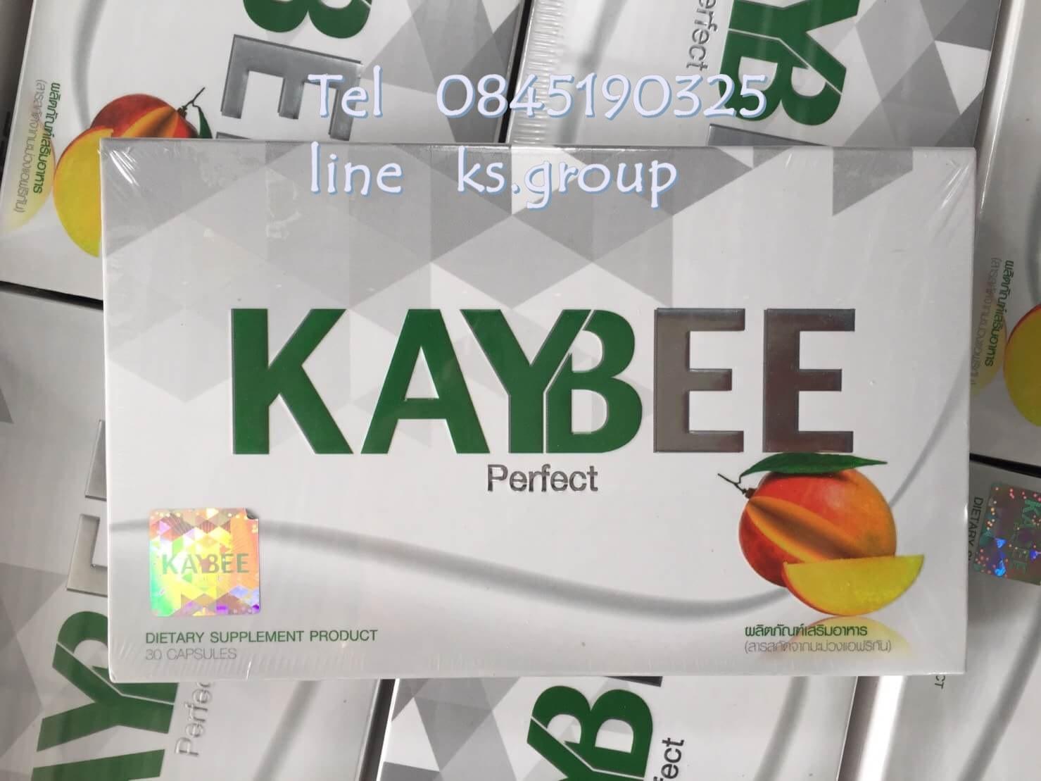 เคบี เพอร์เฟค kaybee perfect ช่วยในการเผาผลาญไขมันส่วนเกิน ส่ง 600 บาท