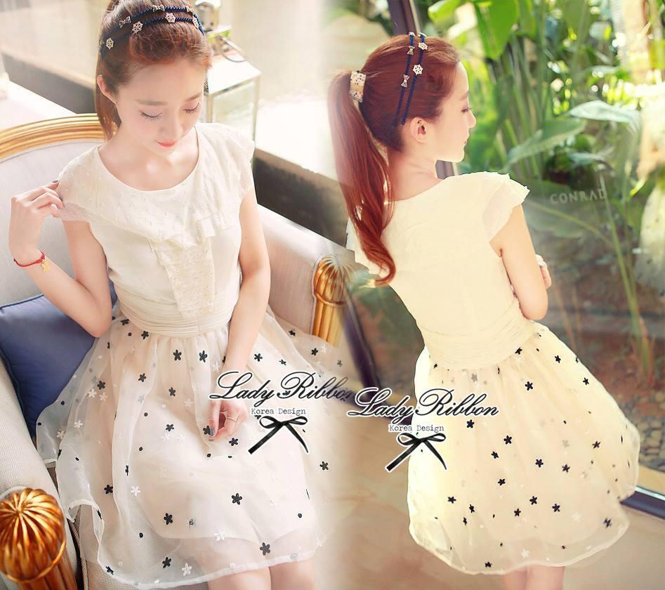 DR-LR-045 Lady Marilyn Stardust Sweet Feminine Dress