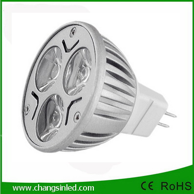 LED MR16 Spotlamp 3x1W