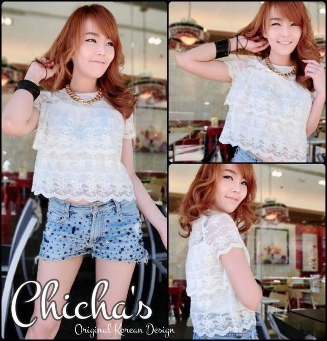 Landmee Lace Blouse C143-49A12