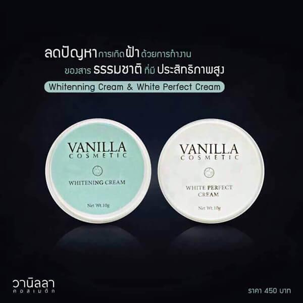 เปิดบิลตัวแทนจำหน่าย ครีมหน้าขาว ครีมหน้าใส Vanilla Cosmetic 5 กล่อง
