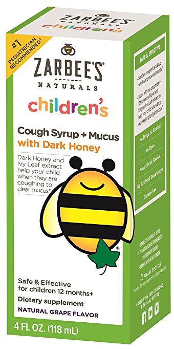 Zabee's Naturals Children's Cough Syrup+Macus