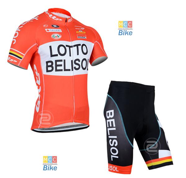 ชุดปั่นจักรยาน เสื้อปั่นจักรยาน และ กางเกงปั่นจักรยาน Lotto Belisol ขนาด M