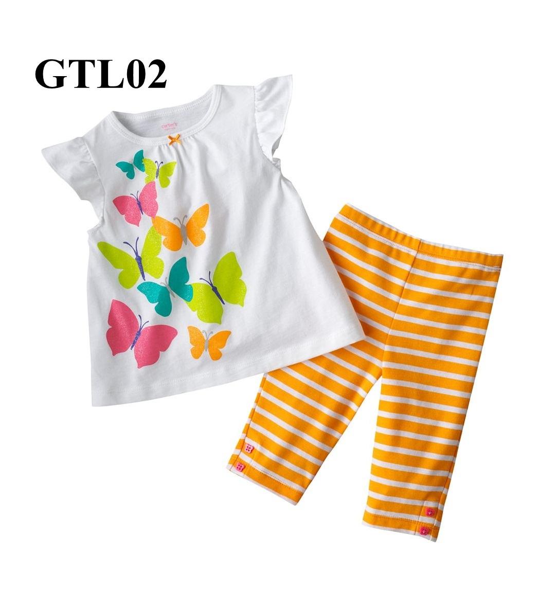 GTL02 เสื้อแขนสั้น+กางเกงขายาว (Size 24M) เนื้อผ้าดีมาก ผ้ายืดเกรดพรีเมียม หนาและนิ่ม ใส่สบาย