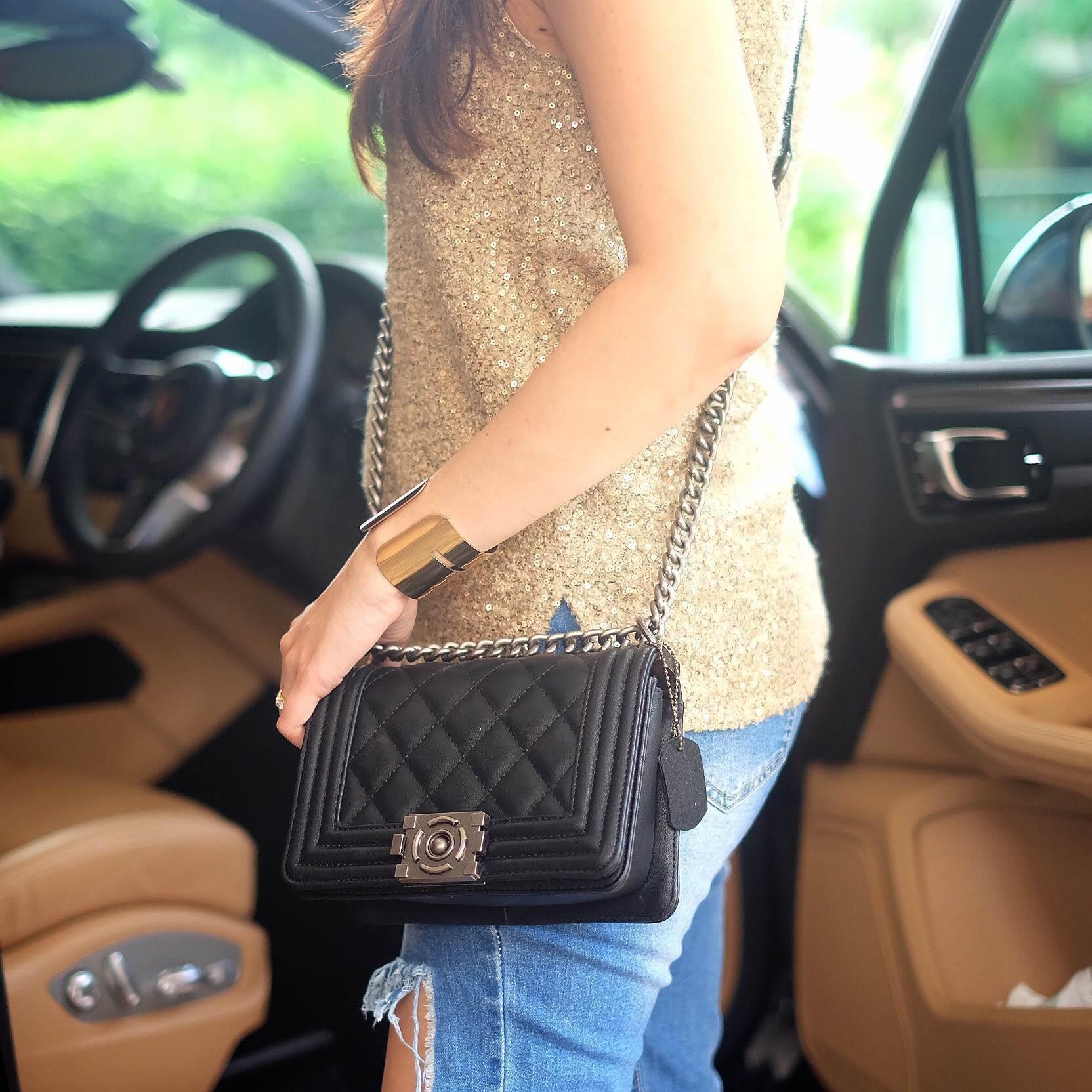 "KEEP mini 8"" shoulder Luxury Quited bag #เซเลบสุดๆจัดเลยค่าเหมาะมาก #Devaชอบใช้"