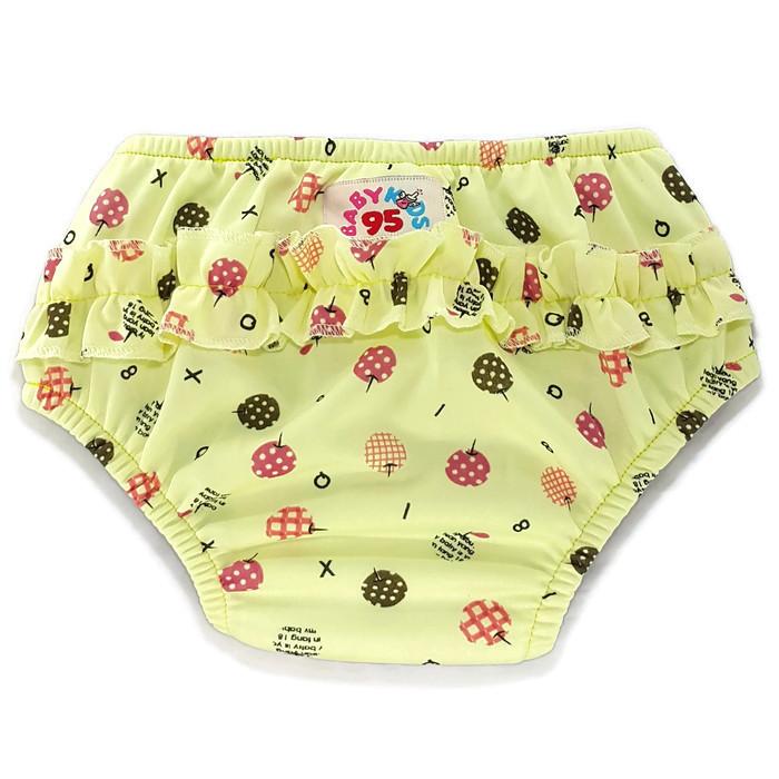 Size: M กางเกงผ้าอ้อมว่ายน้ำ/ลงสระ เอวสวม มีเป้าซับ