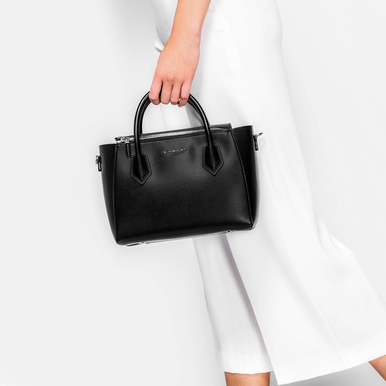 CHARLES & KEITH HANDLE BAG September 2017