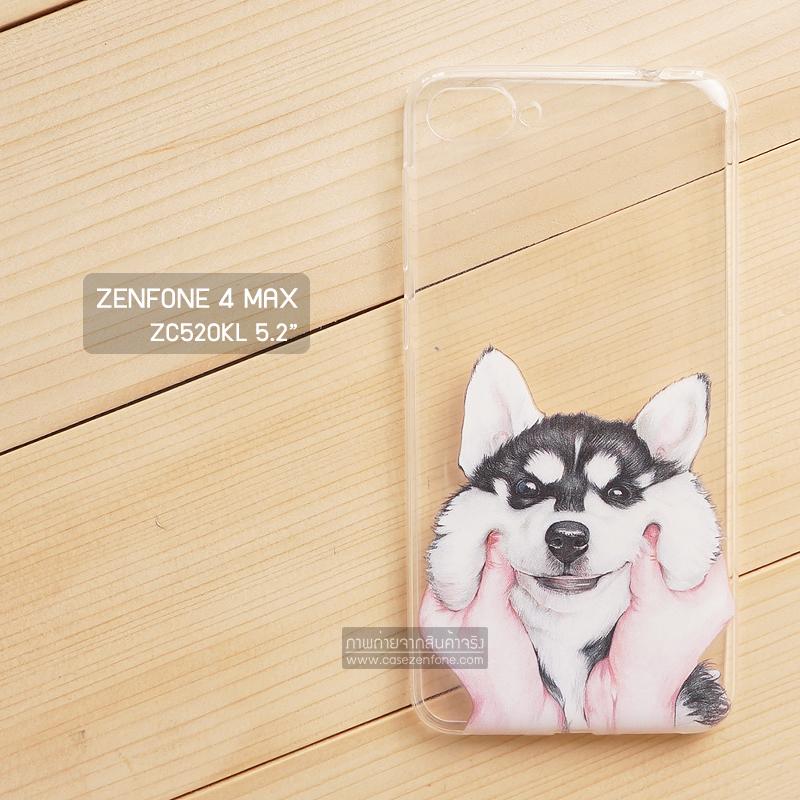 """เคส Zenfone 4 MAX 5.2"""" (ZC520KL) 5.2 นิ้ว เคสนิ่ม TPU พิมพ์ลาย แบบที่ 3"""