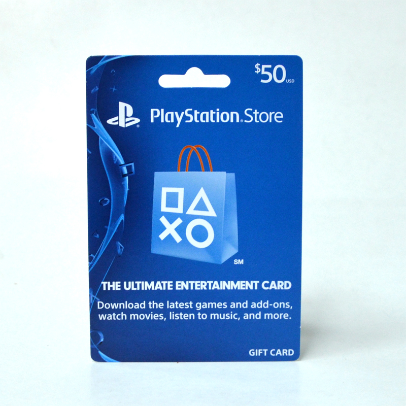 บัตรเติมเงิน PSN (US) 50$