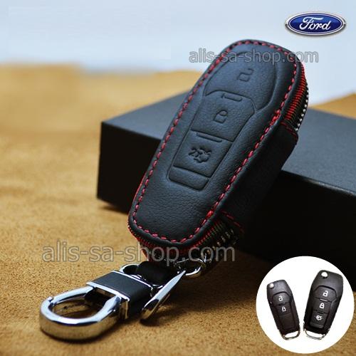 กระเป๋ามินิซองหนัง ใส่กุญแจรีโมทรถยนต์ Ford Mustang รุ่น มินิซิบรอบ