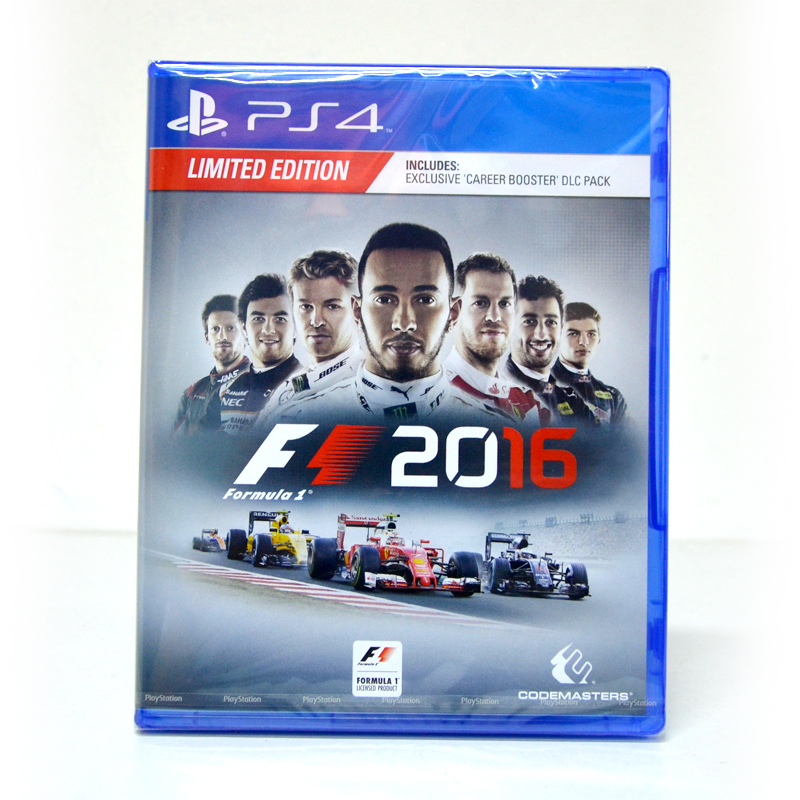 PS4™ F1 2016 Zone 2 EU / English