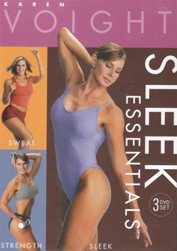 Karen Voight - Sleek Essentials 3 DVD Set