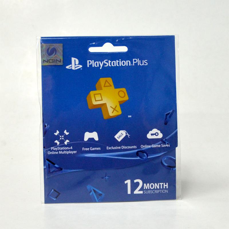 PS Plus 12 Months