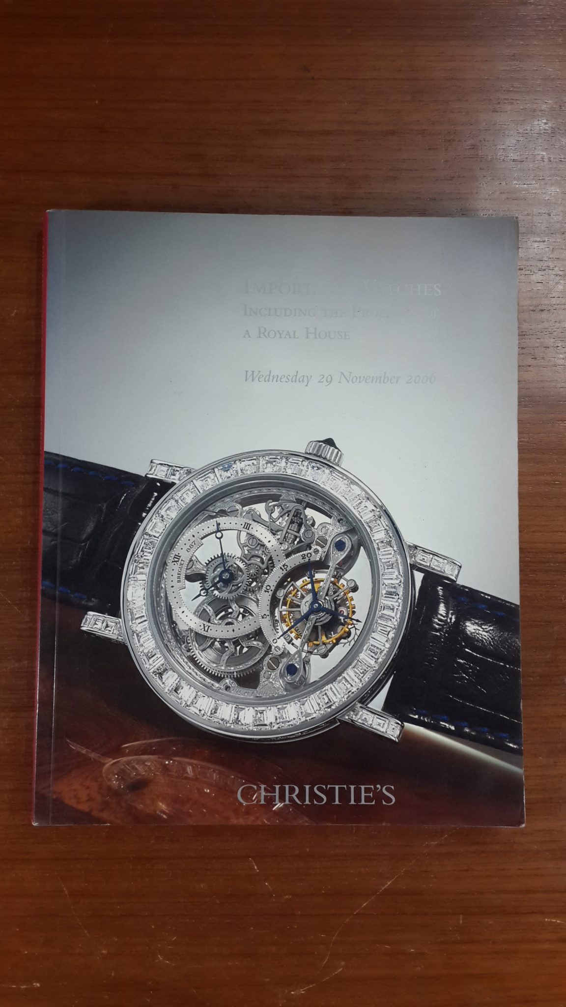 SOTHEBY'S HONG KONG Important Watches Wednesday 29 November 2006
