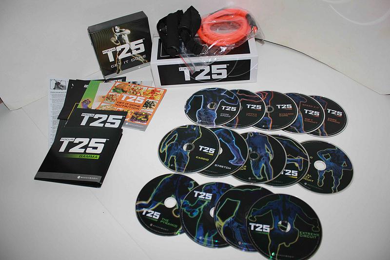 T25 FULL BOXSET ALPHA + BETA + GRAMMA 14 DVDs Boxset