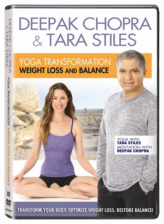 Deepak Chopra & Tara Stiles - Yoga Transformation Weight Loss & Balance