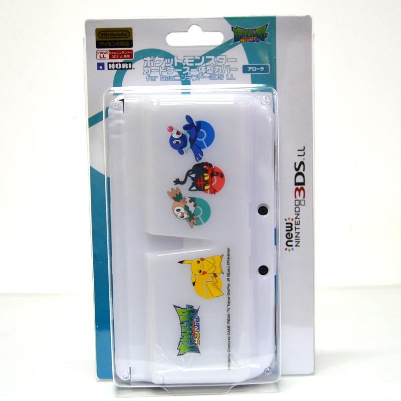 การ์ดเคสและฝาครอบเครื่อง New3DSXL และสำหรับเก็บตลับเกม ยี่ห้อ Hori™ 3DS-503 ของแท้ จากญี่ปุ่น