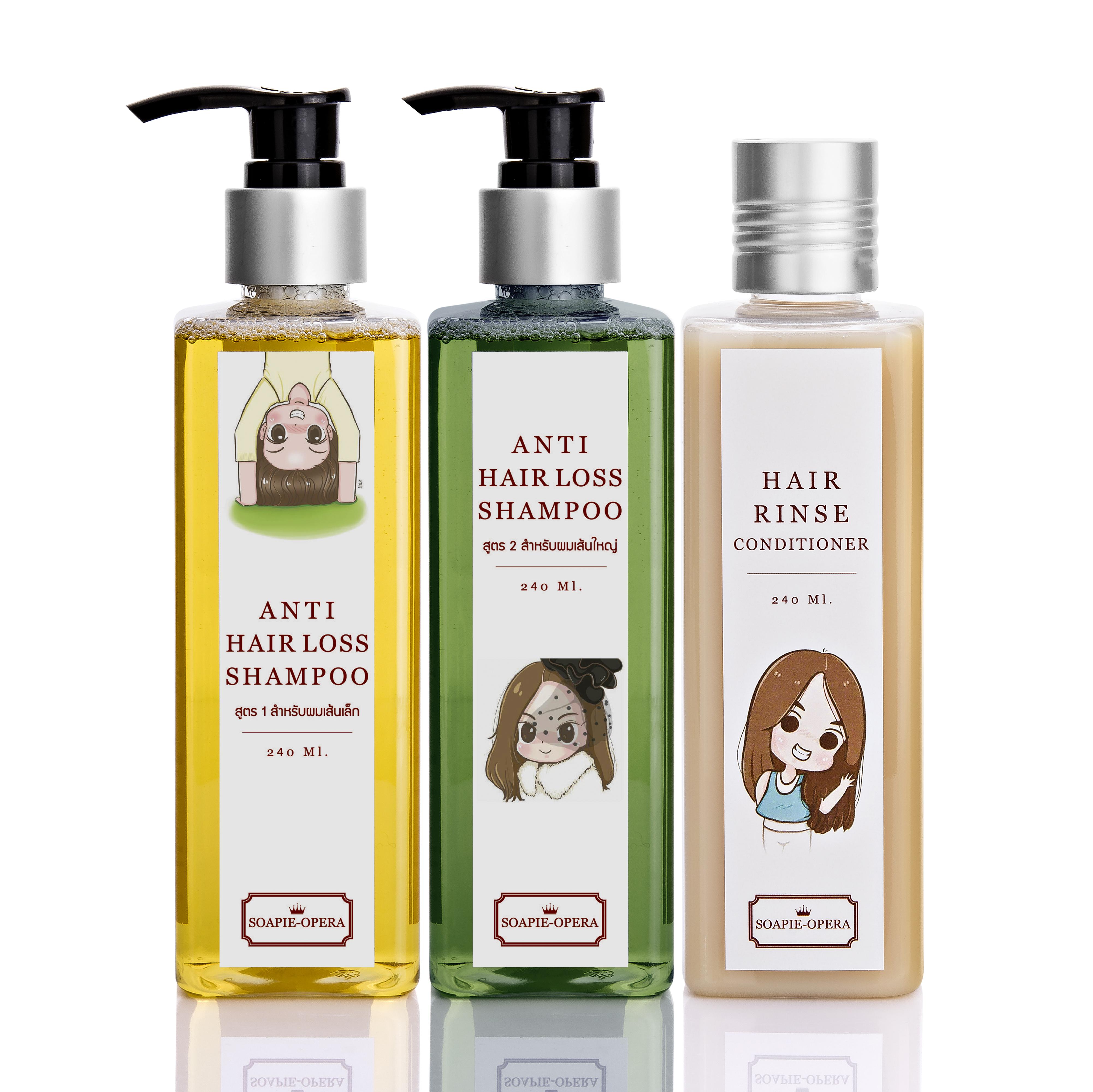 คู่จิ้น shampoo + hair rinse