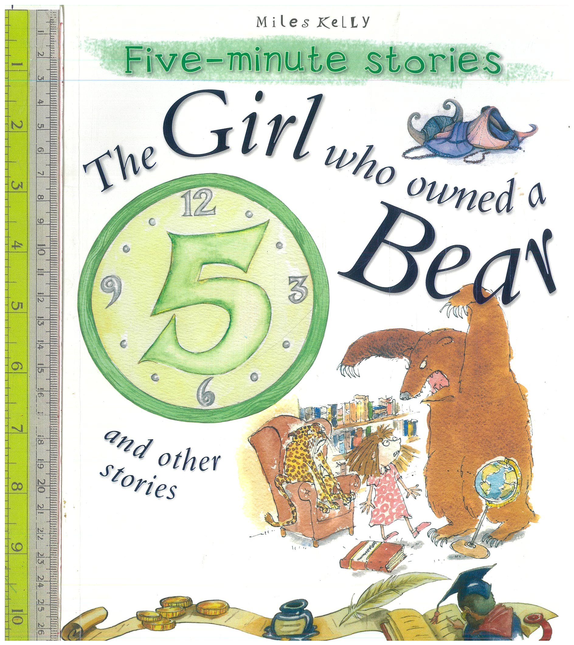 Girl who owned a Bear