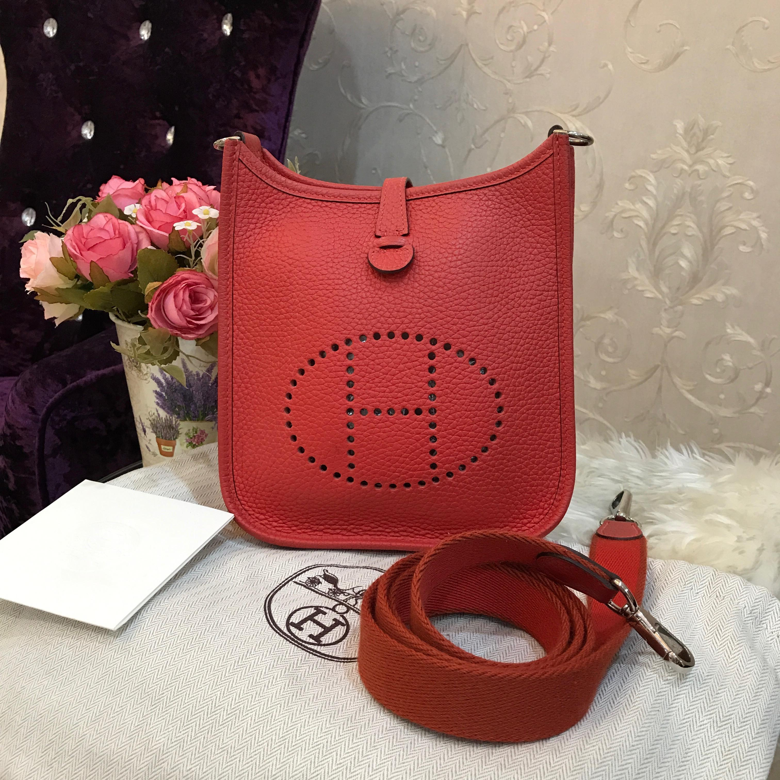 (SOLD OUT)USED Hermes Mini Evelyne