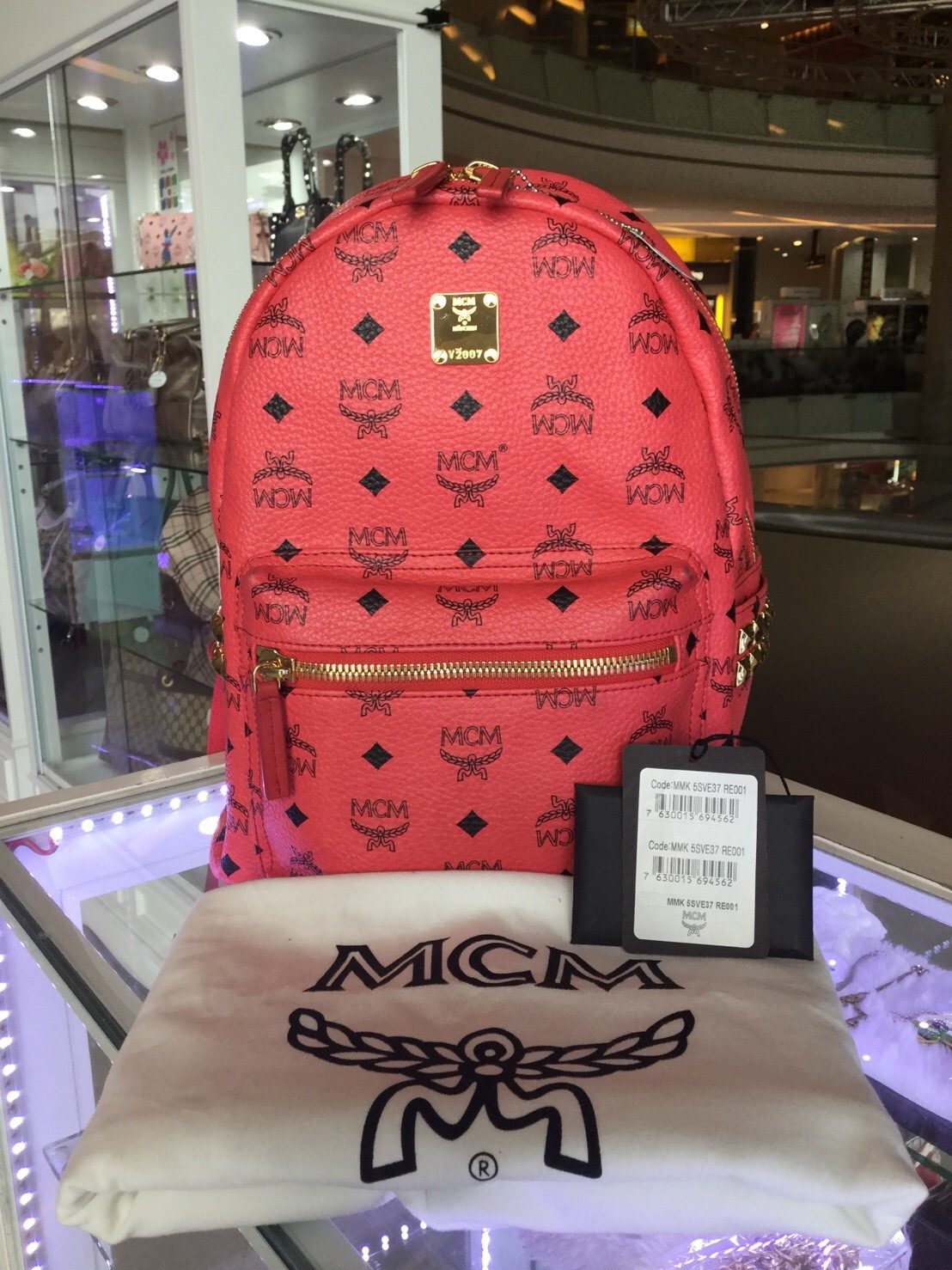 (SOLD OUT)MCM Backpack Small Size