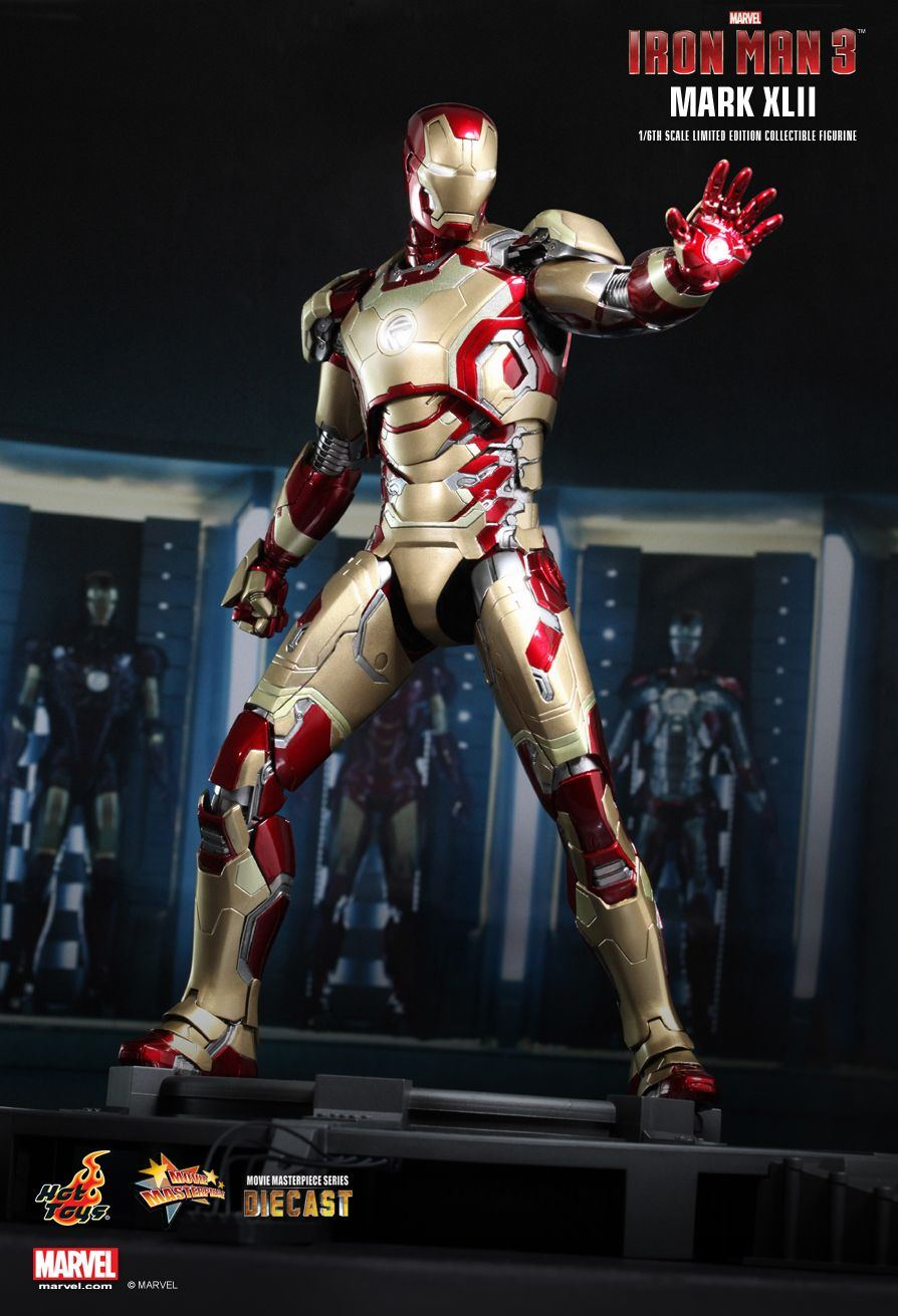 Hot Toys MMS197D02 IRON MAN 3 - MARK XLII