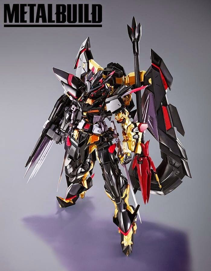 BANDAI METAL BUILD - GUNDAM ASTRAY GOLD FRAME AMATSU MINA