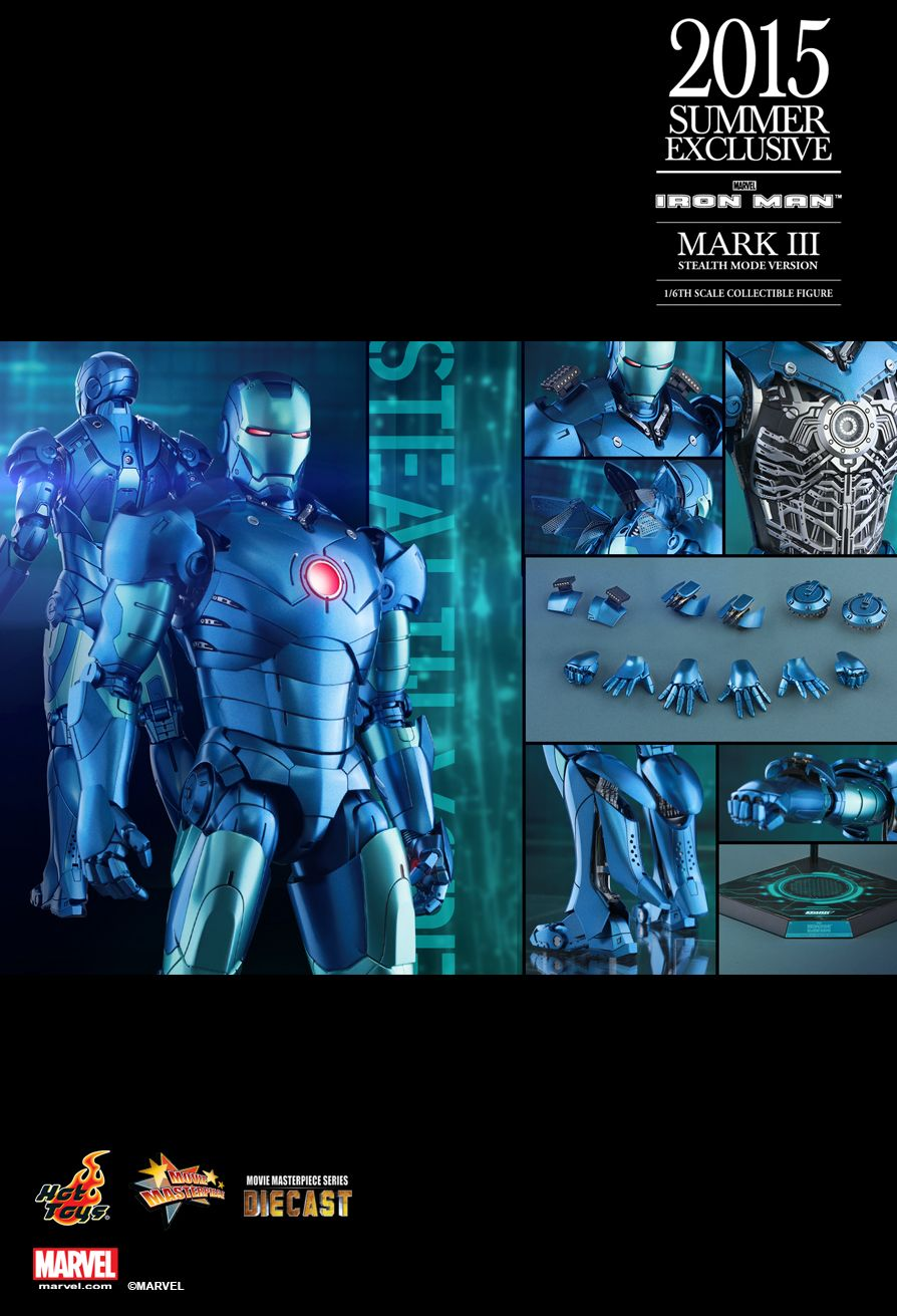 Hot Toys MMS314D12 IM - MARK III (STEALTH MODE VERSION) EX