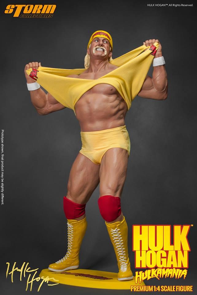 Storm Toys 1/4 Hulk Hogan - Hulkamania