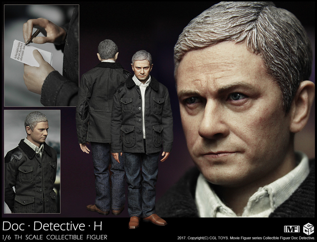 CGLTOYS MF08 Detective Sherlock Watson Doctor Tigers Little Freedom