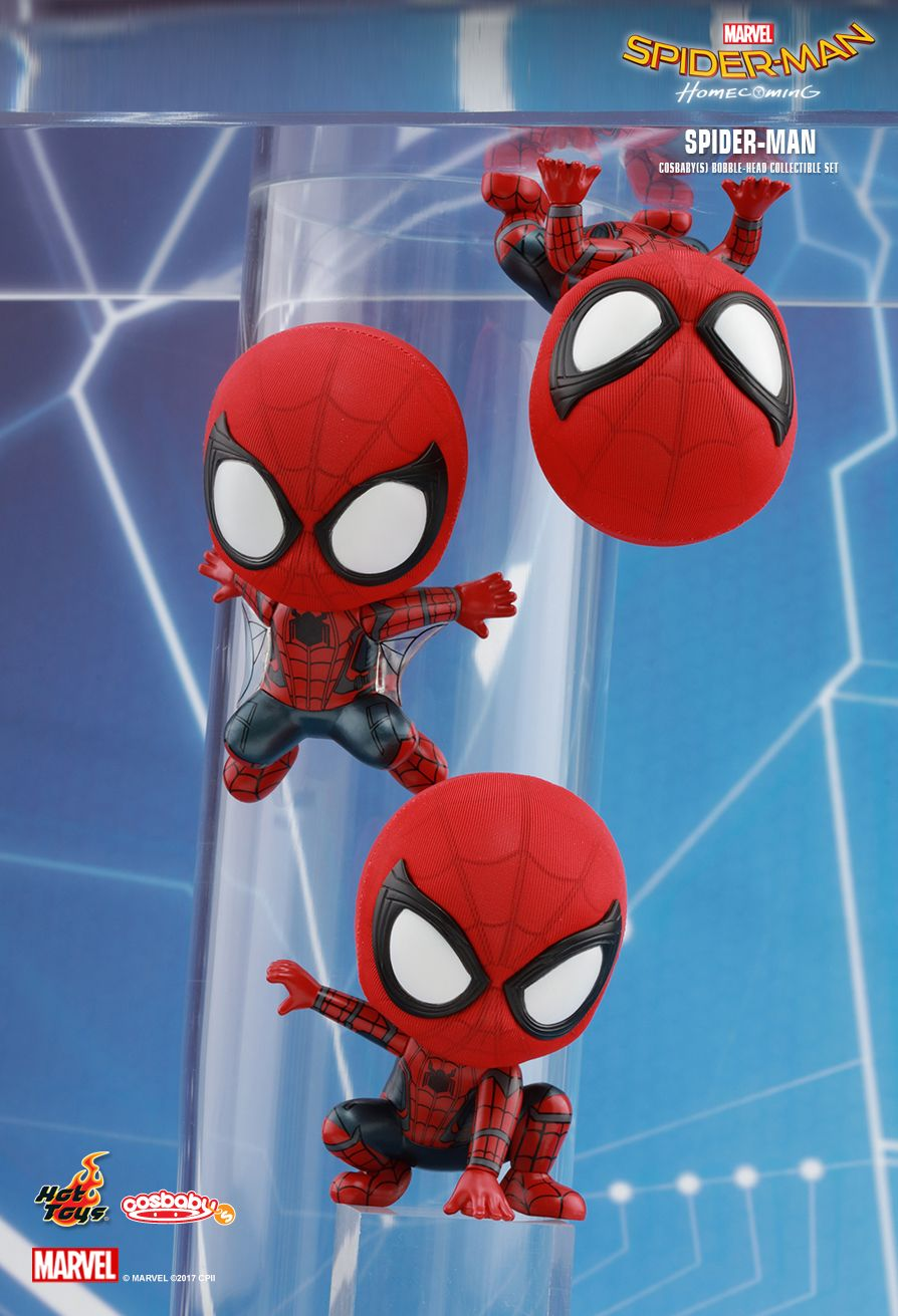 Hot Toys COSB369 SPIDER-MAN: HOMECOMING - SPIDER-MAN (SET 3)