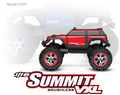 1/16 SUMMIT 4WD Extreme Terrain Monster Truck with TQ™ 2.4GHz #7207