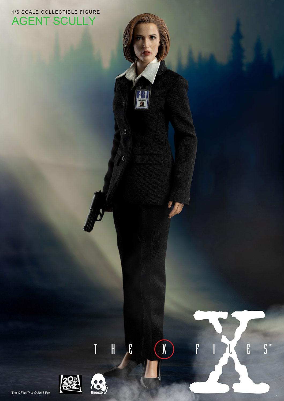 threezero 3Z0025 The X-Files - Agent Scully