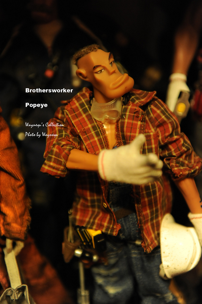 Hot toys brothersworker - Popeye